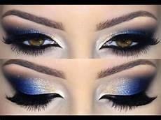 cobalt blue makeup tutorial
