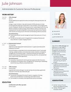 Visual Cv Template Modern Professional Cv Template Visualcv