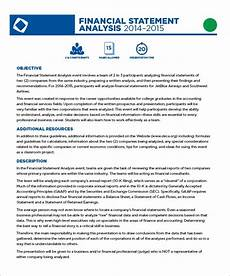Financial Statement Analysis Example Free 8 Financial Statement Samples In Google Docs Ms
