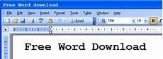 Free Microsoft Word Dowload Free Word Download