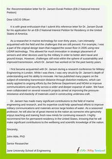 Cover Letter For Green Card Application Reference Letter For Green Card Eb2 Example Reference
