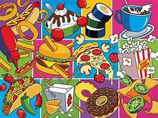 Pop Art Food Food Essentials Digital Art Art And Food