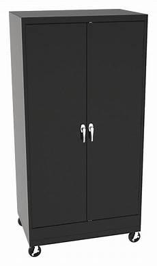 tennsco commercial storage cabinet black 73 in h x 36 in