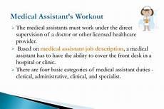Clinic Assistant Duties Medical Assistant Job Description