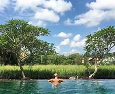 vsco di tepi kolam renang hotel murah dengan kolam renang sawah di bali hanya 500