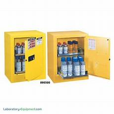 chemical storage benchtop cabinet flammable liquid sure