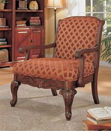 decorative accent chairs decorative chenille fabric cherry finish stylish accent chair