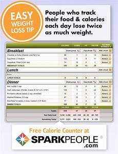 Free Download Calorie Chart Free Calorie Counter By Sparkpeople This Website Has