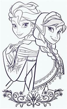 elsa and elsa coloring pages frozen coloring pages