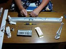 How To Rewire A Fluorescent Light Converting A Fluorescent Light To 12v Dc Solar Panel