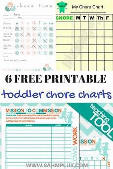Free Printable Charts For Toddlers Toddler Chore Chart Printables 6 Free Chore Charts For