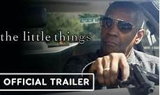 the little things official trailer 2021 denzel