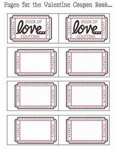 Blank Coupon Books By Day Crafter By Night Free Printable