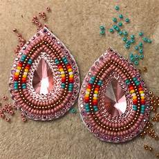 beaded earrings american beadwork patterns