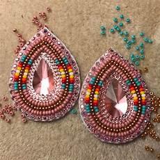 beadwork earrings beaded earrings beadwork patterns