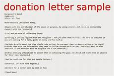 Sample Letter Of Donation How To Write A Donation Letter To A Business Scrumps