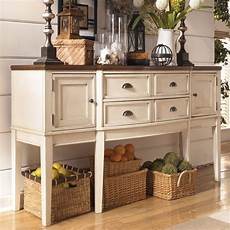 Dining Servers Shop Signature Design By Whitesburg Two Tone