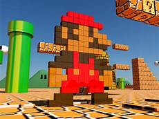 Pixelated Mario Characters Why The Mario Pixels Post Credits Was Cut