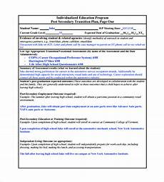 Job Transition Template Free 9 Sample Transition Plan Templates In Pdf Ms Word