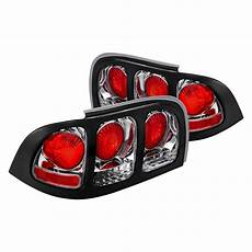 Ford Mustang Euro Lights Lumen 174 Ford Mustang 1995 Black Chrome Red Euro Lights