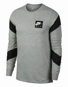 nike sleeve shirts s grey nike air sleeve t shirt style sports