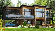 dramatic contemporary home plan 90232pd architectural