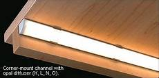 Led Channels And Diffusers For Tape Lighting Led Channels For Tape Lighting Led Shelf Lighting