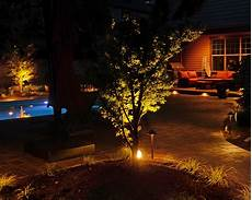 Outdoor Lighting For Trees Low Voltage Design Of Decks Outdoor Kitchens Outdoor Lighting