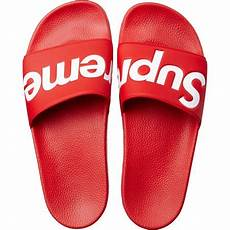 supreme clothing shoes supreme sandals custom molded footbed and fabric