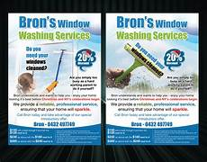 Window Cleaning Flyers Window Cleaning Flyer Design For A Company By Uk Design