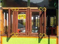 Engsel Paku pada Jendela Bangunan dari Bambu   o2 fresh