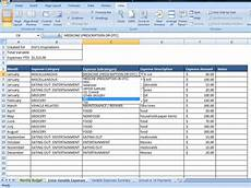 Examples Of Budgets Personal Budget Finance Spreadsheet Templates For Business