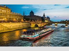 Dinner Cruise along the Seine with Bateaux Mouches River