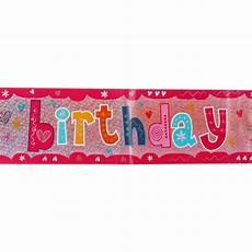 Birthday Girl Banner Birthday Girl Party Banner Big W