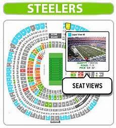 Pittsburgh Steelers Stadium Seating Chart Pittsburgh Steelers Seating Chart Heinz Field