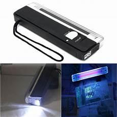 Bank Note Checker Light 4w Mini Portable Uv Lamp Ultraviolet Black Money Detector