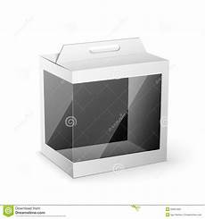 Product Box Template White Product Package Box Mock Up Template Stock Vector