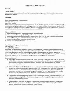 Objectives Resume Samples How To Write A Job Objective For Resume Resume 2018