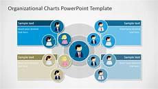 Org Chart Powerpoint Template Circular Organizational Chart For Powerpoint Slidemodel