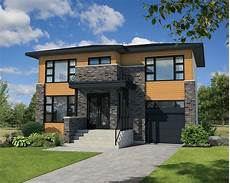 narrow lot contemporary house plan 80807pm