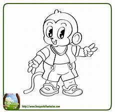 Mono Para Colorear 99 Dibujos De Monos 174 Graciosos Monos Para Colorear Infantiles