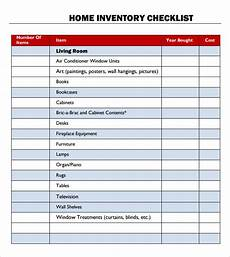 Household Inventory Template Impressive Household Inventory Spreadsheet Checklist For