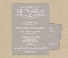Online Wedding Rsvps Vintage Wedding Invitation And Rsvp P R I N T E D Country