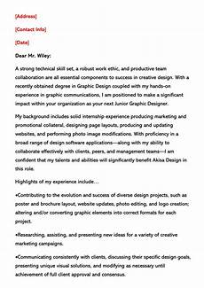 Product Designer Cover Letter Graphic Designer Cover Letter Sample Letters Amp Examples