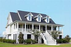 Southern Lights Co Operative Homes Inc Raised Low Country Classic With Elevator 9143gu