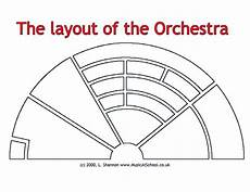 Orchestra Seating Chart Worksheet Orchestra Layout Worksheet For 6th 7th Grade Lesson Planet