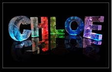 Name In Lights Generator The Name Chloe Images The Name Chloe In 3d Coloured