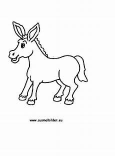 Malvorlage Esel Einfach Ausmalbilder Esel Esel Malvorlagen