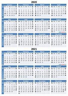 Calendar 2020 Ms Word 2020 And 2021 Calendar Printable Free Download Word Pdf