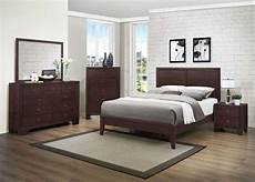 homelegance kari bedroom set warm brown cherry b2146 bed